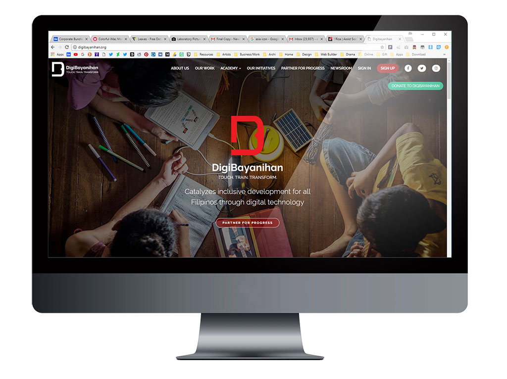 The Newly Launched DigiBayanihan Website