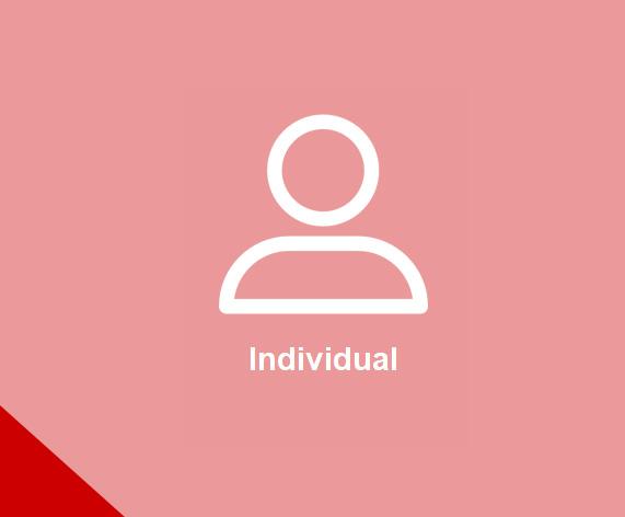 Sign up as individual